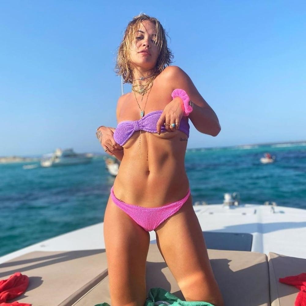 Topless rita ora Rita Ora